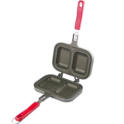 ZXX Non - Stick Sandwich Maker Grill Toaster Für Kinder Sandwich Doppelseitige Pfanne Sandwich Maker Spülmaschinenfest