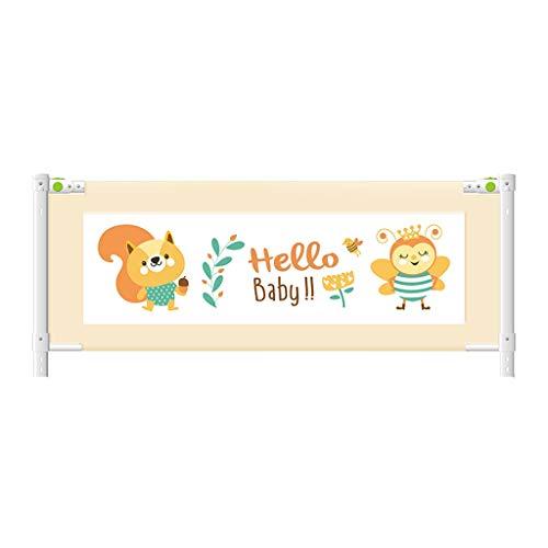 CYLQ Veiligheidsrooster voor kinderen, extra lang, veiligheidsrooster voor babybed, lift, verstelbaar, bedrooster voor bed Queen voor kinderen, matras King Size, 3 kleuren