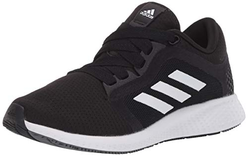 adidas Women's Edge Lux 4 Running Shoe, Black/White/Grey, 10