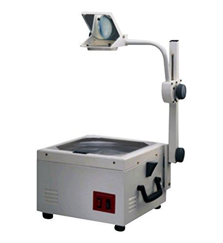 Radical A4 Overhead-Projektor für Büropräsentationen, LehrOhp, zwei Lampen, Deluxe Frensel Linse, A4 Größe, 1-4 m, Projektion deutscher Linsen für bessere Qualität