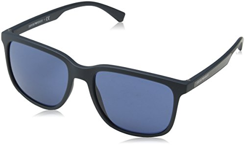 Emporio Armani Herren 0ea4104 Sonnenbrille, Mehrfarbig (Petroleum Rubber), 57