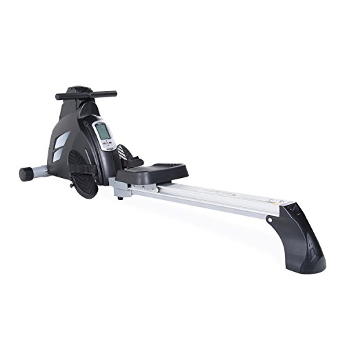 Velocity Exercise black Magnetic Rower