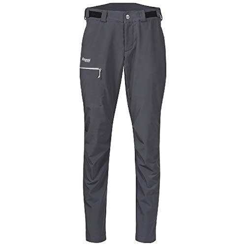 Bergans Slingsby LT Softshell Pant Women Größe S solid Dark Grey/White