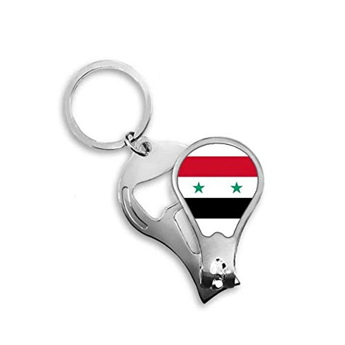 DIYthinker Syrië nationale vlag Azië land Toenail Clipper Cutter