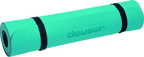 Deuser Yogamatte Petrol, 182x 61cm
