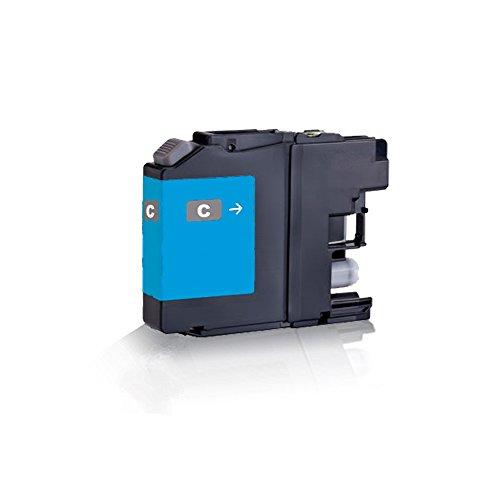 1x kompatible Tintenpatrone für Brother Cyan - Blau LC223 XL LC225 XL LC227 XL DCP-J 4120 DW MFC-J 4420 DW MFC-J 4425 DW MFC-J 4620 DW MFC-J 4625 DW MFC-J 5320 DW - Eco Line Serie