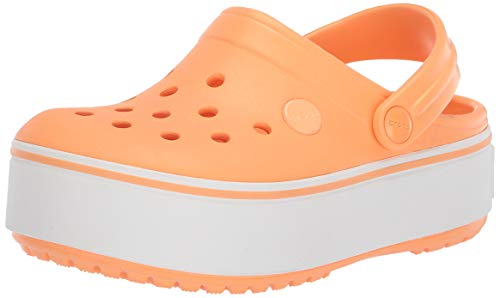 Crocs Herren croc crocband clog | bequeme slip-on-plattform-schuh-2 little 1.5 uk child cantaloup-melone