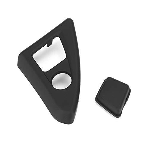 Iinger Nuevo Coche Interior Centro Delantero Panel de la Consola Caja Delantera Botón Botón Botón Tapa Ajuste para BMW 5 Series F10 530 520i 2011-2016 (Color Name : Black)