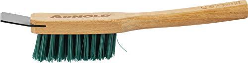 ARNOLD Reinigungsbürste mit Schaber Reinigungsbürtse, Schwarz