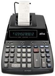 Ativa AT-P3000 2 Color Desktop Printing Calculator by Ativa