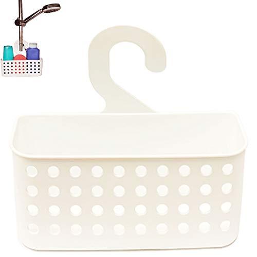 Colgador de Plástico para Baño en Color Blanco