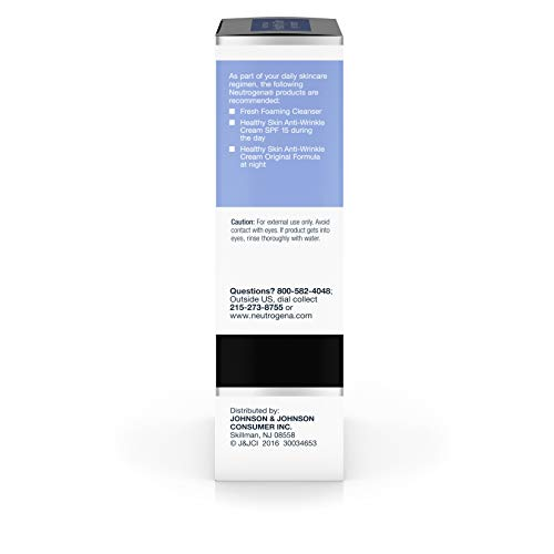 314+Anj5mnL - Neutrogena Healthy Skin Eye Firming Cream with Alpha Hydroxy Acid, Vitamin A & Vitamin B5 - Eye Cream for Wrinkles with Glycerin, Glycolic Acid, Alpha Hydroxy, Vitamin A, Vitamin B5, Vitamin C, 0.5 oz
