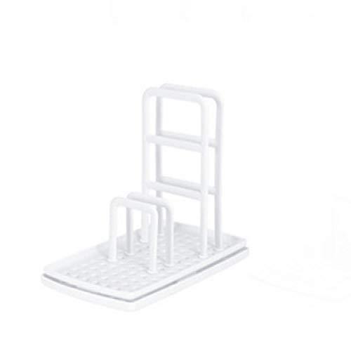 Estantes de utensilios de cocina de escritorio Rag Rack multifunción para platos de tela de drenaje sin perforación, esponja de jabón, estantes de almacenamiento de estantes de escurridor de platos