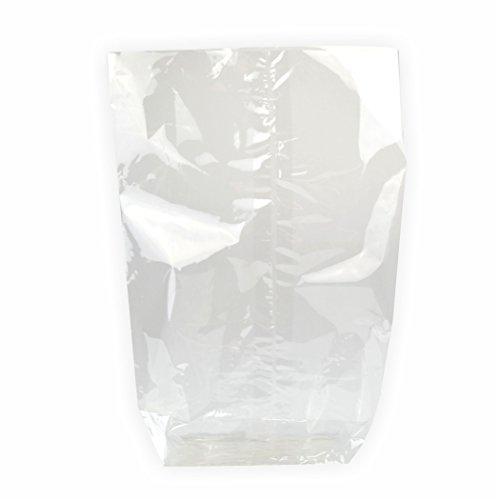 Zellglasbeutel Bodenbeutel ohne Druck 180x300 mm, 10 Stück für Lebensmittel geeignet BIO - FOLIE