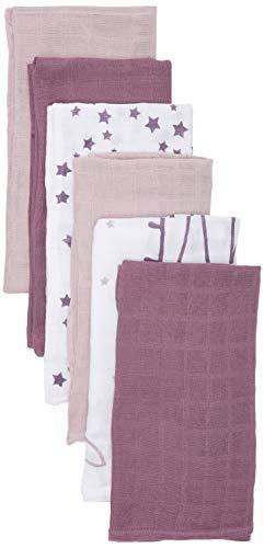 Pippi Unisex Baby 6er Pack Windeln mit verschiedenen Motiven Badebekleidungsset, Mehrfarbig (Violet Ice 530), (Herstellergröße:70x70)