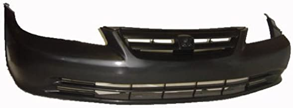 OE Replacement Honda Accord Front Bumper Cover (Partslink Number HO1000196)