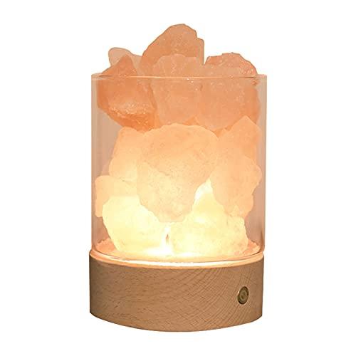 HXXXIN Lámpara De Aromaterapia De Cristal Dormir Sin Fuego Difusor De Aceite Esencial Horno De Aromaterapia Decoración del Hogar Adornos De Regalo Luz De Noche