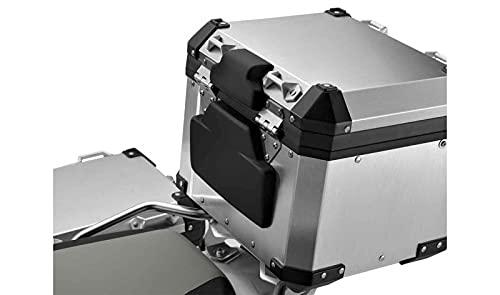 R1200GS LC R1250GS F800GS F8 - Juego de almohadillas acolchadas para maleta de aluminio, color negro