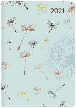 Ladytimer Mini Blowballs - Taschenkalender A7 - Kalender 2021 - Alpha Edition-Verlag - Eine Woche auf 2 Seiten - Buchplaner mit Lesebändchen und Platz für Notizen - Format 8 cm x 11,5 cm