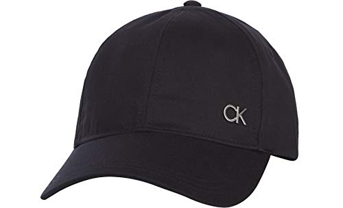 Calvin Klein BB Cap Gorra de bisbol, CK Negro, Taille Unique para...