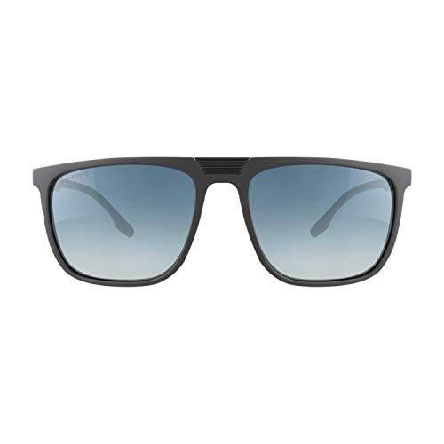 Eli-time Gafas de sol polarizadas con montura rectangular rectangular TR-90 para hombres y mujeres Protección UV400 ET19013 (C-2)