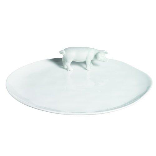 Räder Le set Poésie et saucissons de Table en porcelaine Cochon