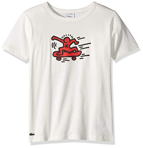 Lacoste Little BOY Keith Haring Skater T-Shirt, Flour, 5YR