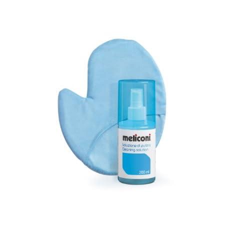 Meliconi C-200G - Soluzione Detergente 200 ml con Guanto Microfibra