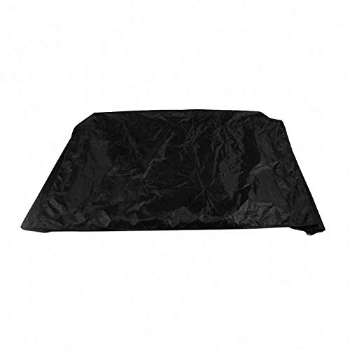 lINOC Patio Furniture Covers Garden Furniture Covers Black Waterproof Suitable for Chairs Loveseats Ottomans Sofas Tables,180×80×85cm