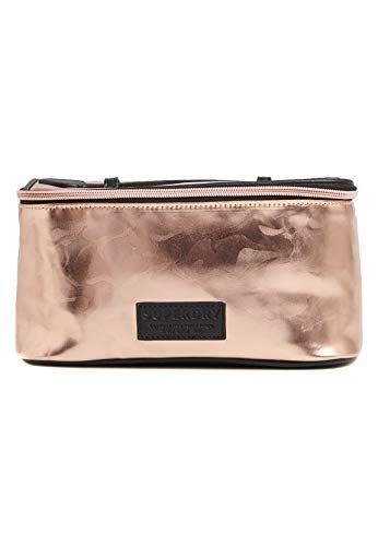 Superdry Kosmetiktasche VANITY BAG Pink Camo, Size:ONE SIZE
