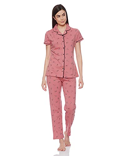 Your e store Cotton Women's Cotton Night Suit Printed Tshirt...