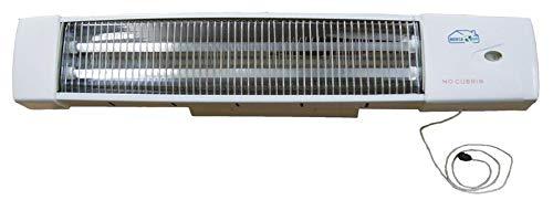 MERCATOOLS Estufa de baño halógena para Pared con Cuerda 400 / 800W