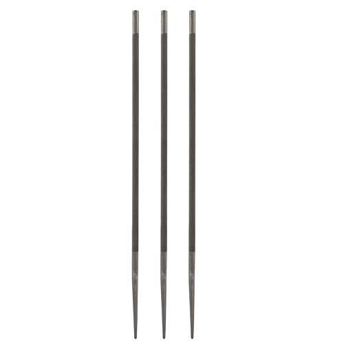 Preisvergleich Produktbild Garosa 3 Stücke Kettensägefeilen 5, 0mm Runde Kettensäge Legierung Einreichung Spitzer Holzbearbeitung Zubehör Kit für Holz