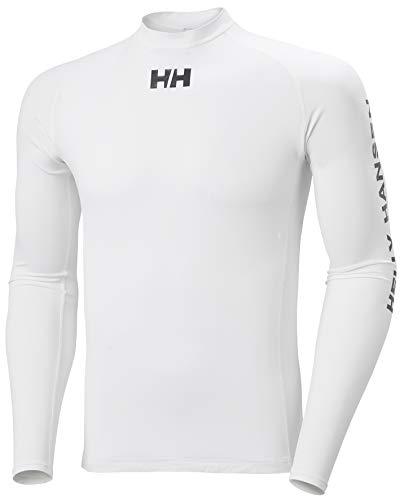 Helly Hansen Waterwear Rashguard T-shirt en néoprène Homme, Blanc, S