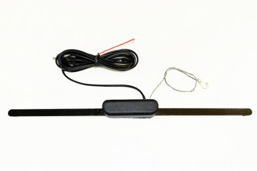 AntennaMastsRus - Universal Hidden Style AM-FM AMPLIFIED Radio Antenna for (Boat's-Hot Rod's-Golf Cart's-Dune Buggies-Harley's-Motorcycle's-Camper-Trailer-Motorhome-ATV-UTV-Recreational Vehicle's)
