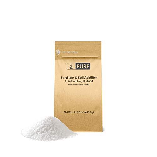 Pure Ammonium Sulfate (1 lb.), Eco-Friendly Packaging, Fertilizer &...