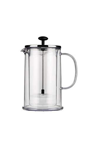 Bodum 1608-16 THERMIA Doppelwandiger Kaffee-/Teebereiter, 8 Tassen, 1.0 l, Kunststoff, Edelstahl