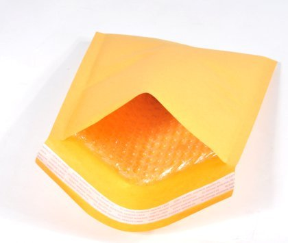 500 #00 5x10 PREMIUM US MADE KRAFT BUBBLE MAILERS PADDED ENVELOPE BAGS