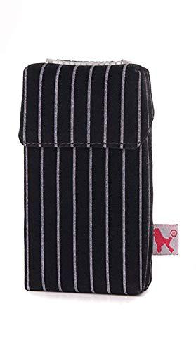 smokeshirt® Zigarettenetui div. Designs Long 100 mm smoke shirt für Zigarettenschachtel in Größe 100 mm, modisch, Elegante, patentiert