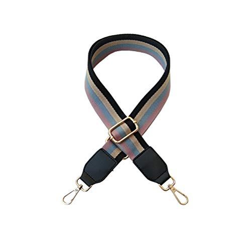 Umily 3,8 cm di larghezza Sostituzione della tracolla Cinturino regolabile in tela per tutte le fasce per borsa Borsa a tracolla Lunghezza 80-130 cm