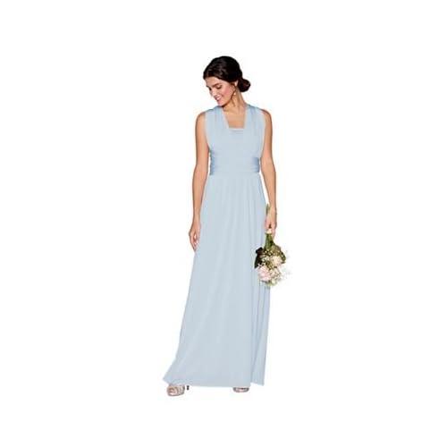 02b0da9b86fa Debut Womens Light Blue Multiway Maxi Dress