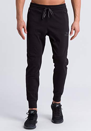 ERIMA Herren Hose Essential Sweathose, schwarz, M, 2101807