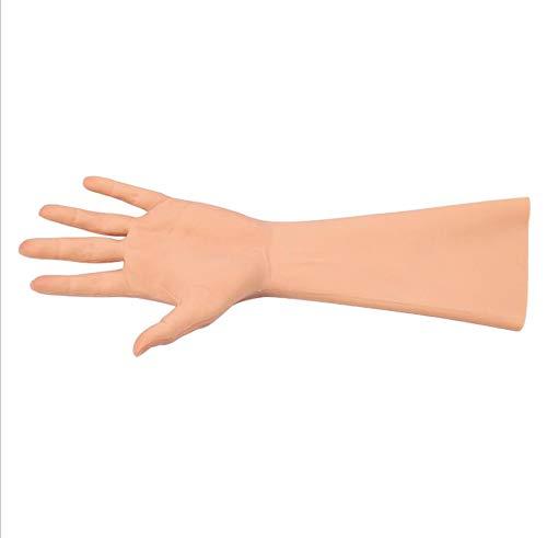 HJG Crossdressing Apparel Male To Female,Silicone Gloves for Transvestite Cosplay Performance for Man Women,Flesh