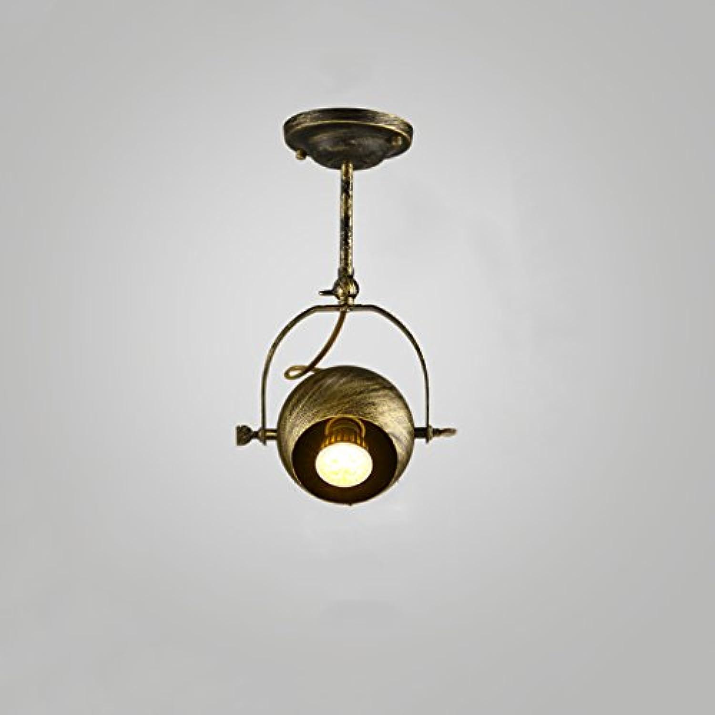 %Lampe Retro Industrial Wind Track Deckenleuchte Persnlichkeit Kreative Bronze Deckenleuchte Restaurant Küche Schlafzimmer Coffee Shop Bekleidungsgeschft Kronleuchter -1 2 3   4heads