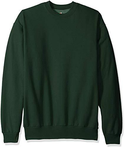 Hanes ComfortBlend EcoSmart Crew Sweatshirt_Deep Forest_4XL