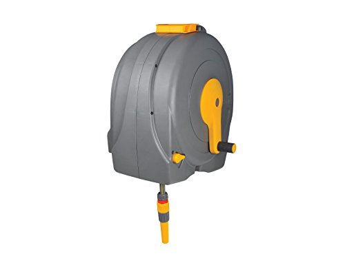 Hozelock Wall Mounted Fast Reel with 40m hos