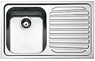 Lavelli da cucina Smeg VSTR34-2 Acciaio inossidabile lavello ...
