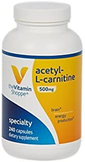 AcetylLCarnitine 500mg – Supports Healthy Brain Memory Function, Promotes Energy Production – Carnipure™ Offers Purest For...