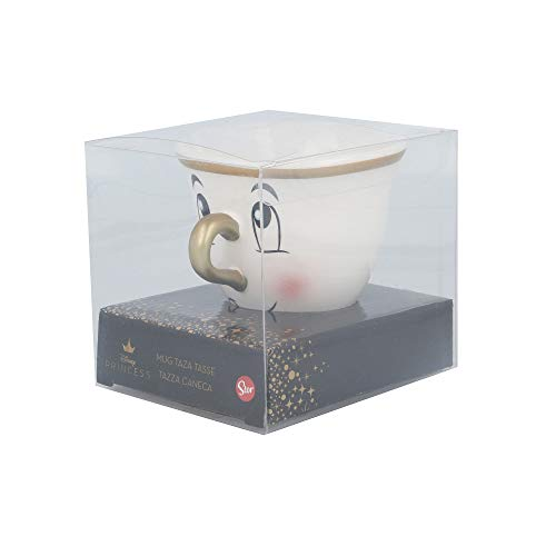 TAZA CERAMICA 3D 190 ML | CHIP LA BELLA Y LA...