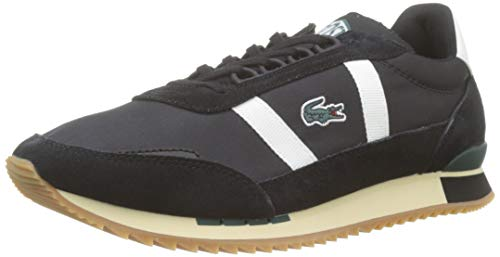 Lacoste Herren Partner Retro 319 1 SMA Sneaker, Black/Offwhite, 43 EU